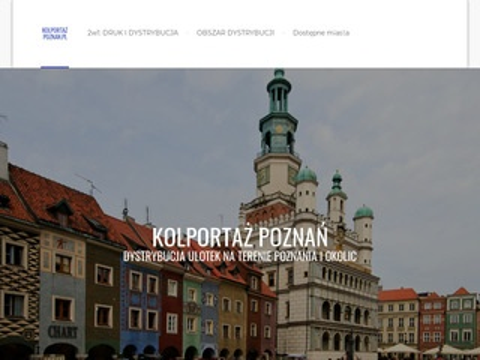 Kolportaz-poznan.pl ulotek i reklam