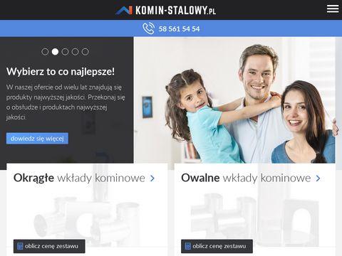 Kominstalowy.pl kominy izolowane