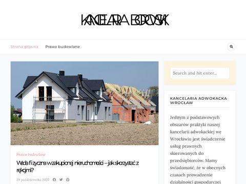 Kancelaria-borowski.pl obsługa prawna