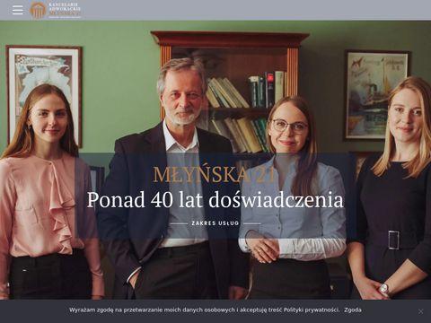 Kancelariamlynska.pl adwokat Gdańsk