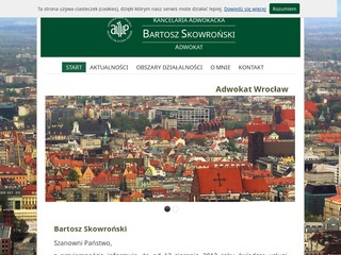 Kancelariaskowronski.pl adwokat Wrocław