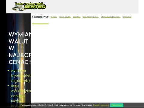 Kantorcentus.pl - waluty w Nowym Sączu