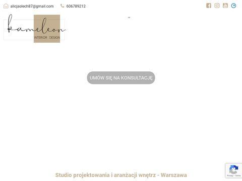 Kameleon-projektowanie.com nowoczesne wnętrza