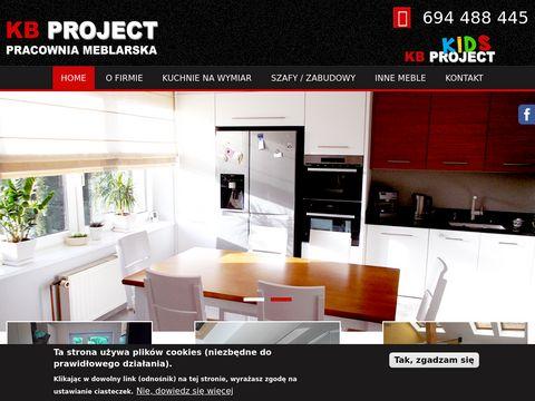 Kbproject.pl szafy na zamówienie