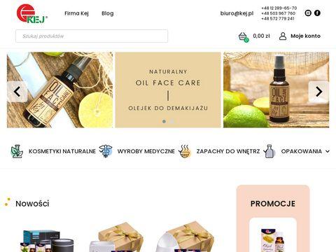 Kej wyroby medyczne, kosmetyki, aromaterapia