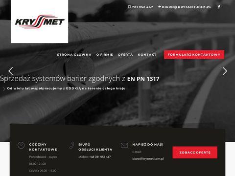 Krysmet.com.pl balustrady i barierki drogowe