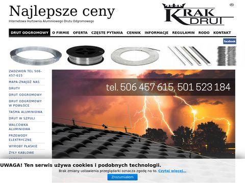 Krakdrut.pl hurtownia instalacje odgromowe