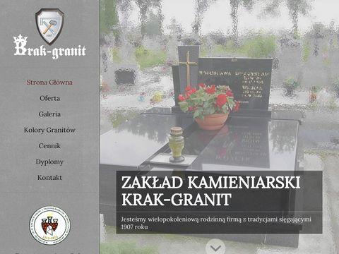 Krak-Granit kamieniarskie usługi Kraków
