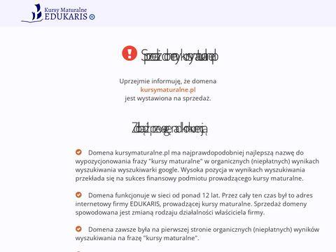 Kursymaturalne.pl