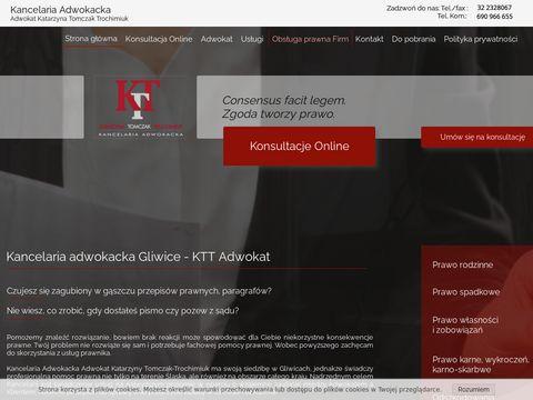 Ktt-adwokat.pl prawnik Gliwice