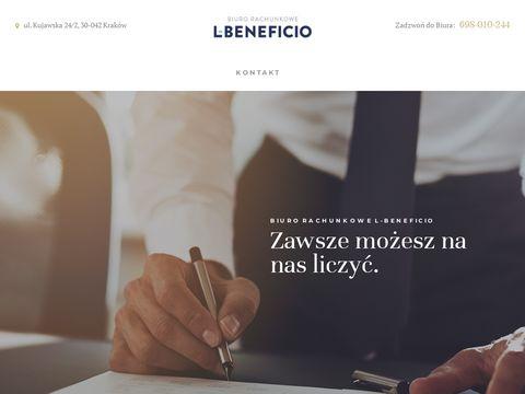 L-beneficio.pl biuro rachunkowe Kraków