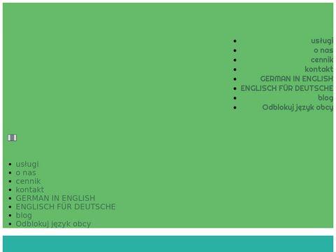 Linguaboutique.pl niemiecki Żary