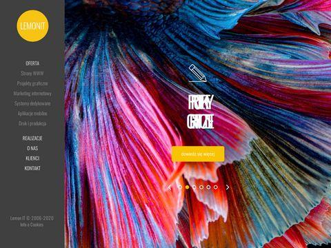 Lemonit.pl - tworzenie stron www