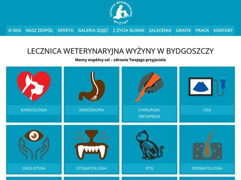 Lecznicawyzyny.pl dobry weterynarz Bydgoszcz