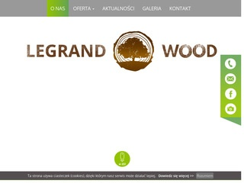 Legrand-wood.com tarcica sosnowa