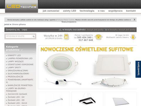 Ledtechnics.pl oświetlenie led