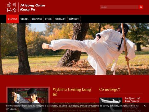 Wushu kung fu - chińska sztuka walki