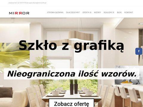 Mirror.info.pl szkło z Grafiką