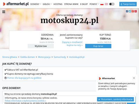 Motoskup24.pl aut