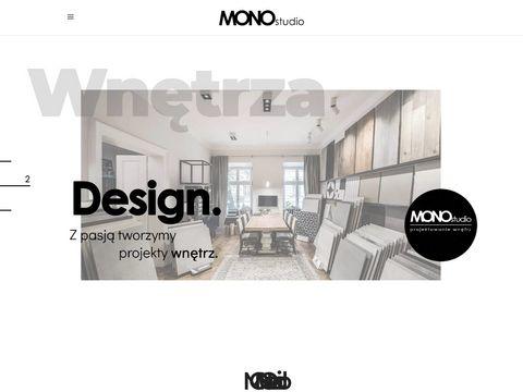 Monostudio Katowice - projektowanie łazienek