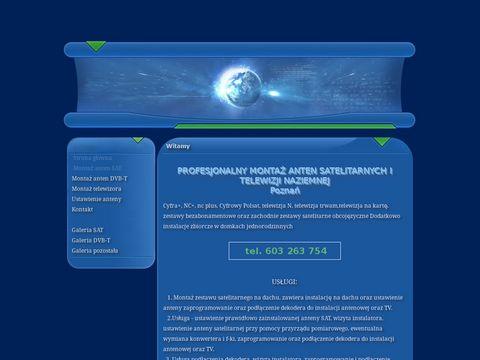 Montaz.plazmy.com.pl anten Poznań
