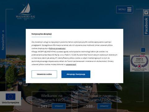 Mazurskiraj.pl wakacje na Mazurach