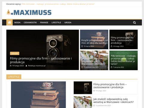 Maximuss.pl prowadzenie imprez