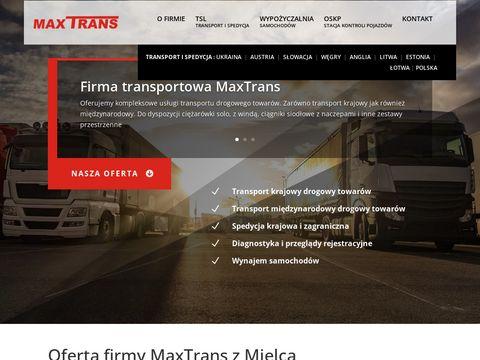 F.T.U.H MaxTrans - wypożyczalnia samochodów