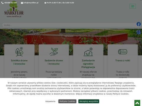 Markflor.pl drzewa i krzewy Kraków