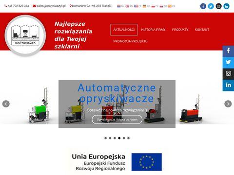 Maryniaczyk.pl lance do oprysków