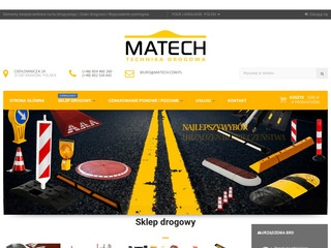 Matech.cc.pl progi zwalniające, separatory