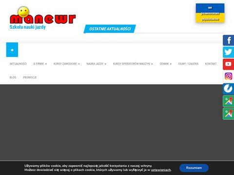 Manewr szkoła nauki jazdy Wrocław