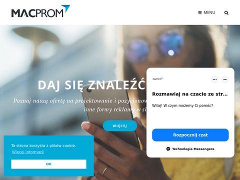 Macprom projektowanie stron internetowych