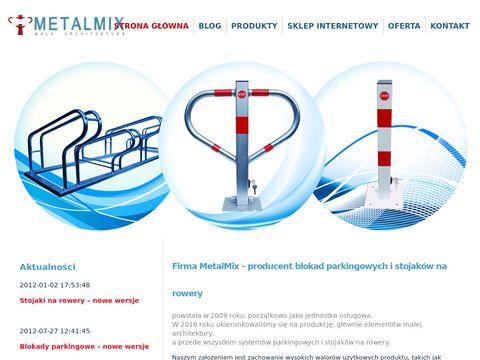 Metalmix.info stojaki na rowery