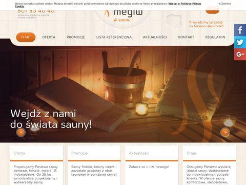 Megiw producent saun