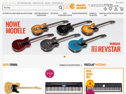 Musiccenter.com.pl sklep muzyczny poznań