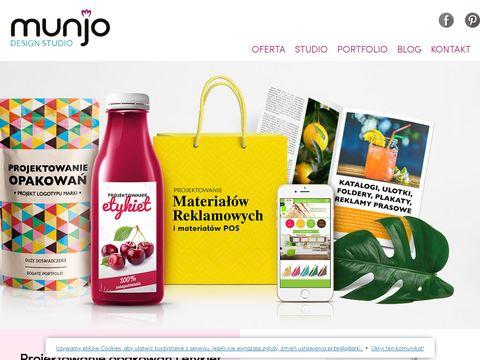 Munjodesign.pl Projektowanie opakowań
