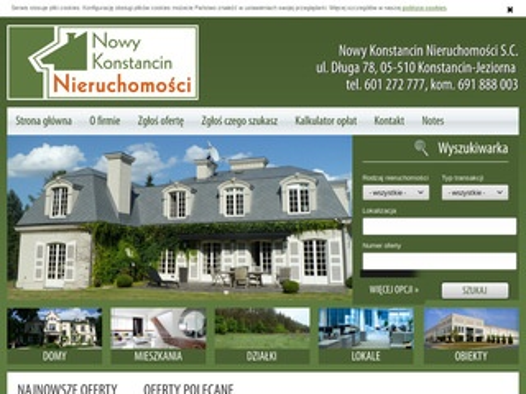 Nieruchomosci-konstancin.com