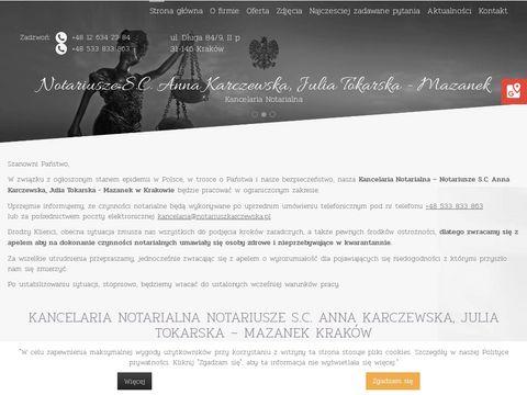 Anna Karczewska notariusz w Krakowie