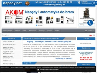 Napedy.net silniki do rolet