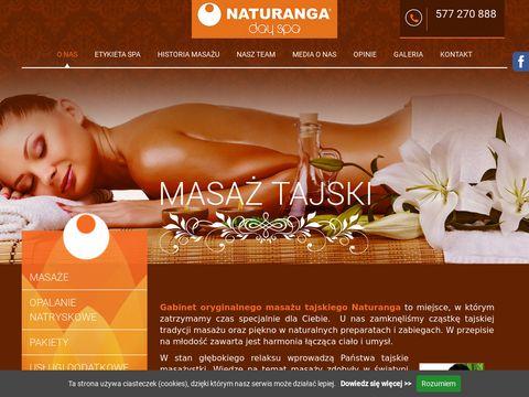 Naturanga.pl masaż tajski