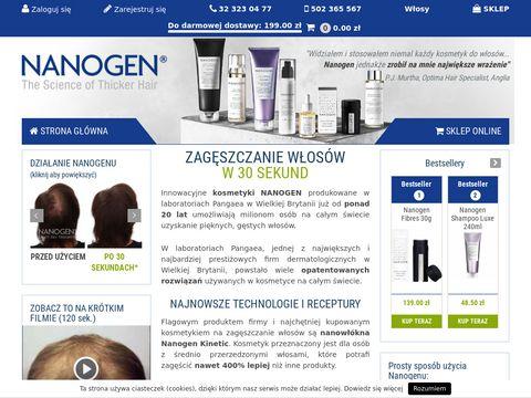 Nanogen.pl zagęszczanie włosów