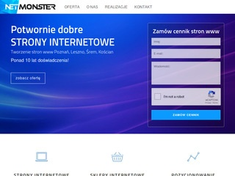 Netmonster.pl sklepy internetowe