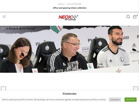 Neox-racing.com wygodny fotel do grania