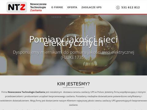 Ntz-ups.pl serwis zasilaczy