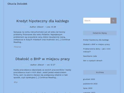 Okuciadolodek.pl ślusarstwo