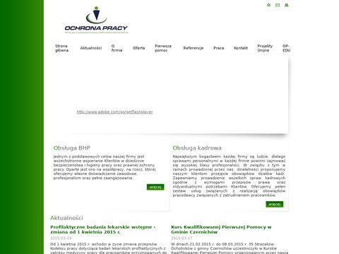Ochronapracy.com - szkolenia bhp Kraków