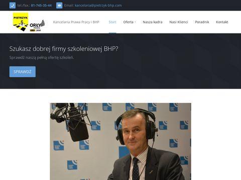 Pietrzyk-bhp.com kurs Lublin