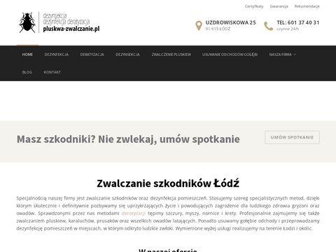 Pluskwa-zwalczanie.pl dezynfekcja Łódź