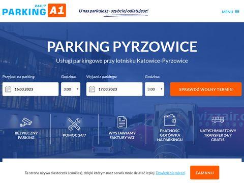 Parkinga1pyrzowice.pl Katowice